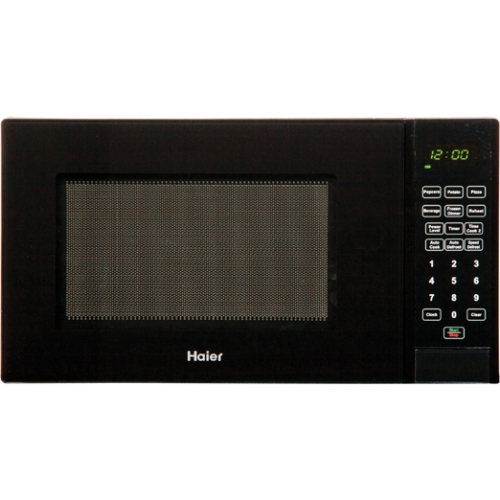 Haier 0.9 cu ft Microwave, Black