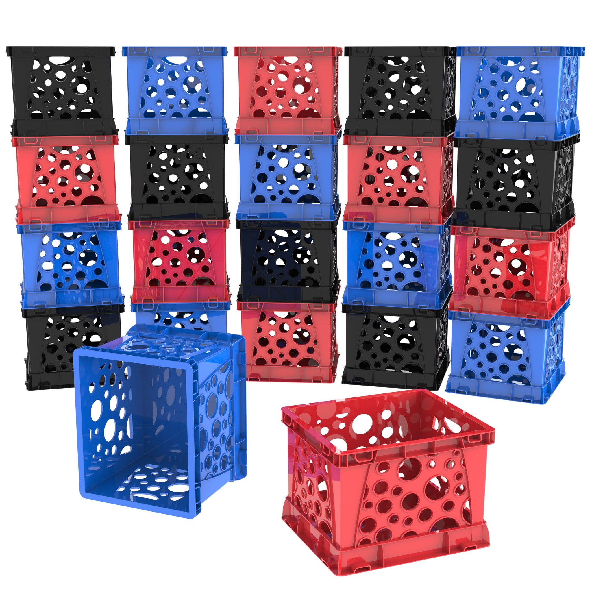 Storex Micro Crate (Lot of 18 units/ bulk pack)