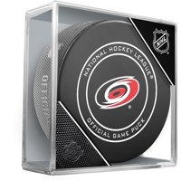Carolina Hurricanes Unsigned InGlasCo Official Game Puck