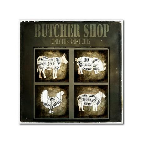 Trademark Fine Art 'Butcher Shop V' Canvas Art by LightBoxJournal](Art Shops)