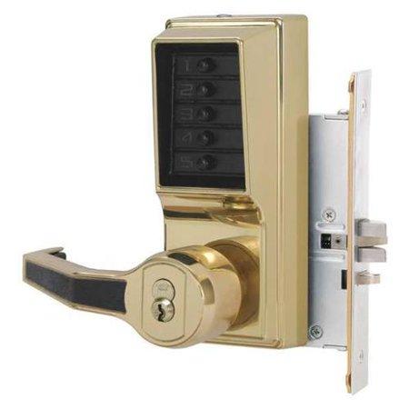 SIMPLEX LR8146R0341 Push Button Lock,Entry,Key