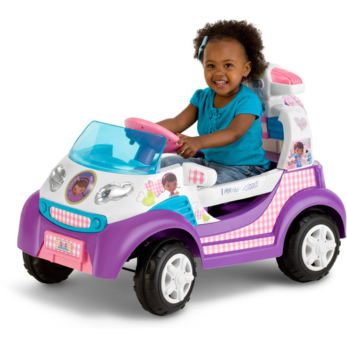 Disney Doc McStuffins Toy Rescue Ambulance 6V Battery Powered Ride-On