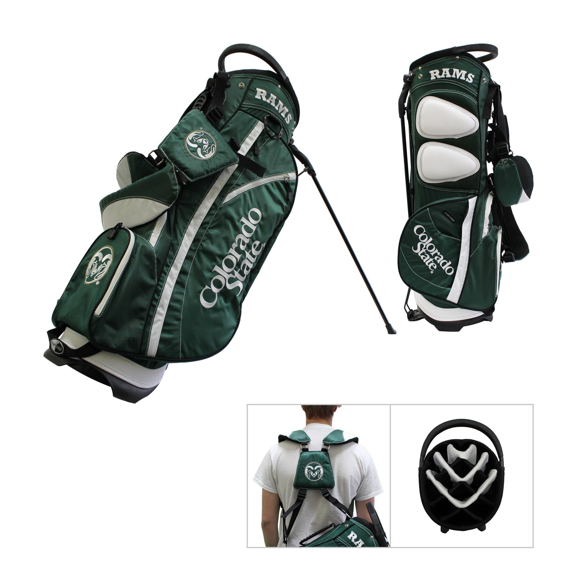 Colorado State Rams Team Golf Fairway Lightweight 14-Way Top Golf Club Stand Bag by