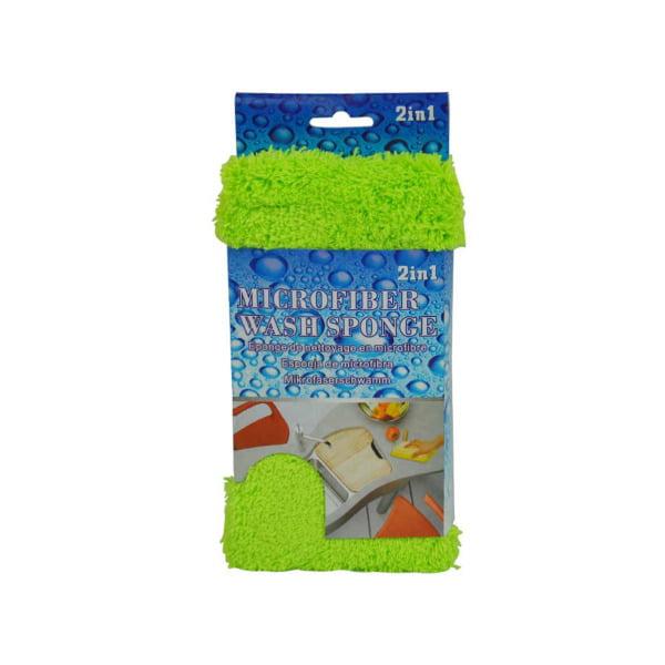 2 In 1 Microfiber Wash Sponge