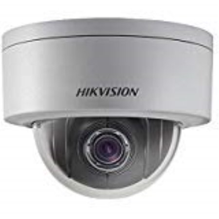 Hikvision DS-2DE3304W-DE 3MP Vandal-Resistant Outdoor Network Mini PTZ Dome IP Camera with PoE Day and Night Version ()