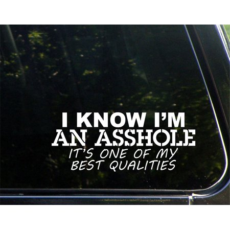 I Know I'm An A**hole It's One Of My Best Qualities - 8