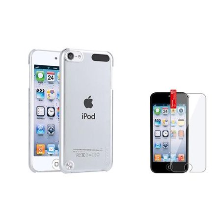 Insten Clear Transparent Crystal Hard Skin Case for iPod Touch 6th 6G 6 5th 5G 5 Generation 5G 5 New ()