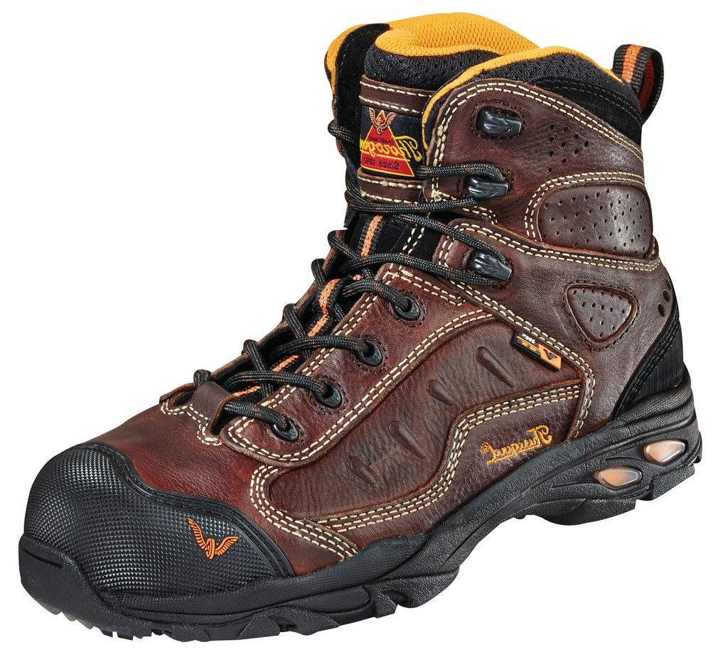 7a4646a2af4 thorogood - thorogood men s vgs-300 asr sd sport hiker boot composite  safety toe - 804-4037 - Walmart.com