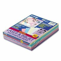 Pacon Colored Bond Paper, 20-lb, Assorted Pastels, 500 Sheets