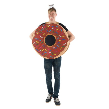 Adult Sprinkle Donut Mascot Halloween Costume](Halloween Donuts With Teeth)