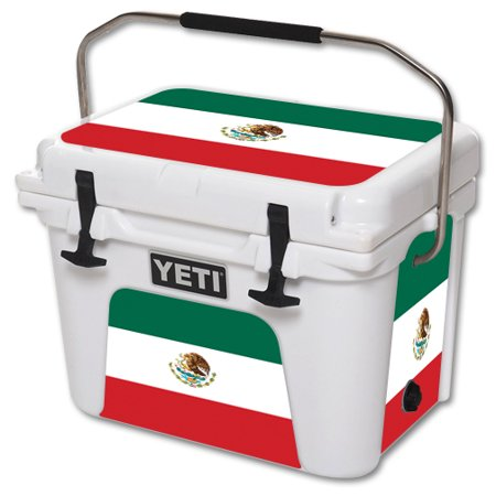 MightySkins Protective Vinyl Skin Decal for YETI Roadie 20 qt Cooler wrap cover sticker skins Mexican