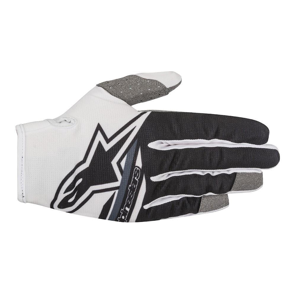 Alpinestars Radar Flight Gloves White/Black (Black, XX-Large)