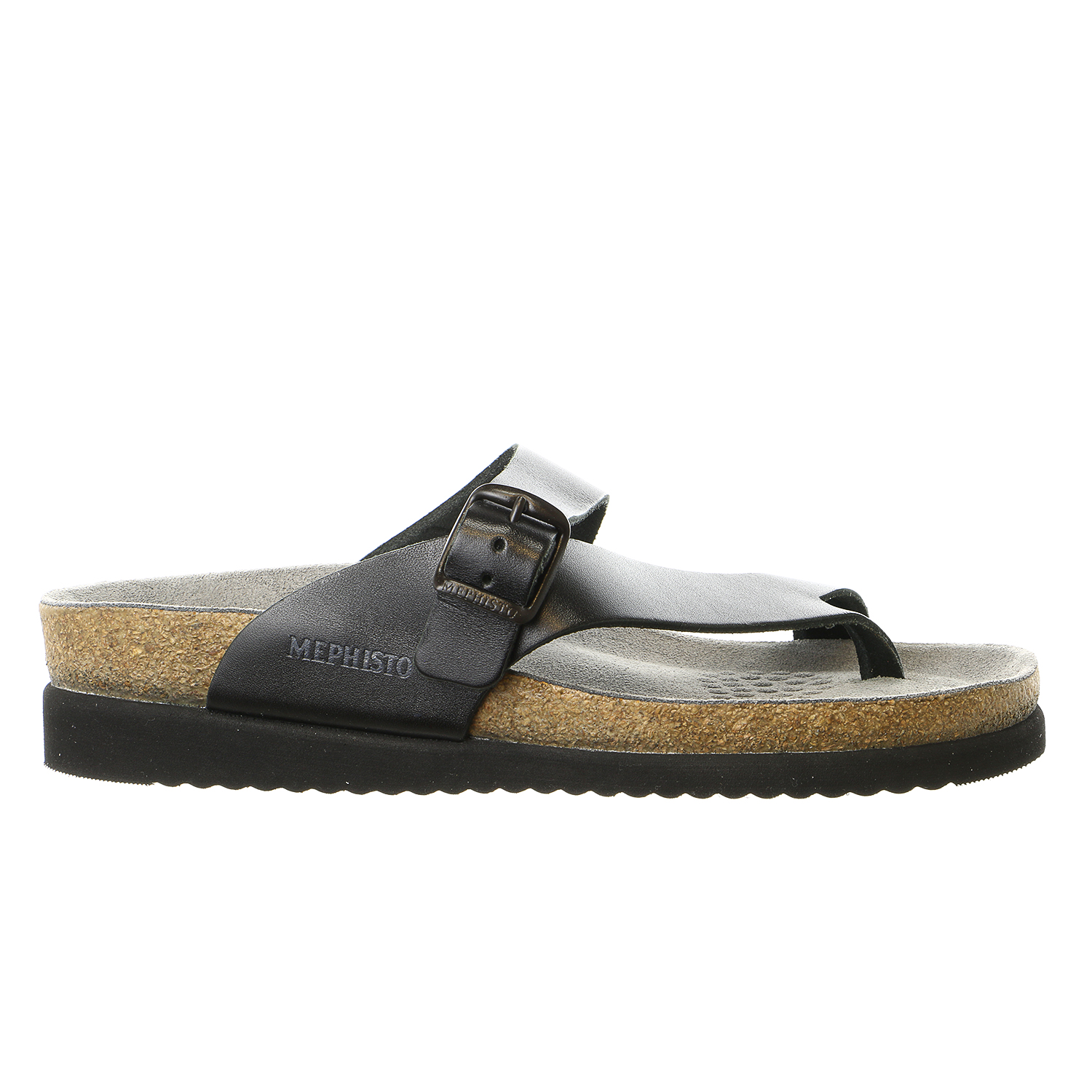 Mephisto Helen Adjustable Strap Thong Sandal Shoe - Womens
