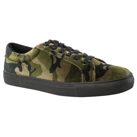 New Kenneth Cole Mens Road Sneaker Camouflage Fashion Shoes Size 8.5