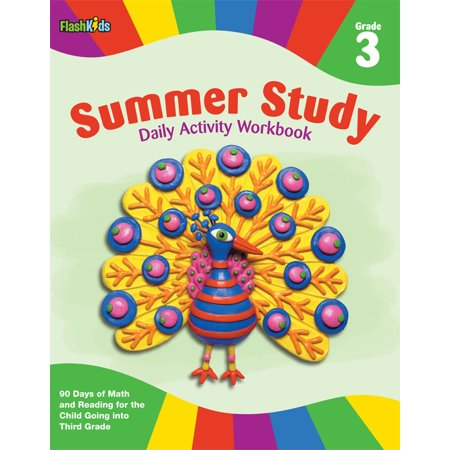 Summer Study Daily Activity Workbook: Grade 3 (Flash Kids Summer Study (Halloween Activity Algebra 3)