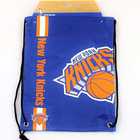 Logo Drawstring Backpack - Forever Collectibles New York Knicks Drawstring Backpack Gym Sack