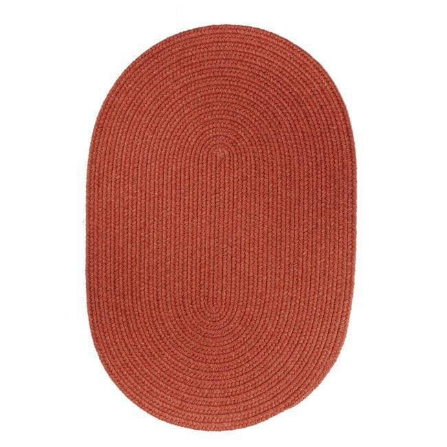 Rhody Rug S108R036X060 Solid 3x5 Wool Rug Terra Cotta - image 1 de 1