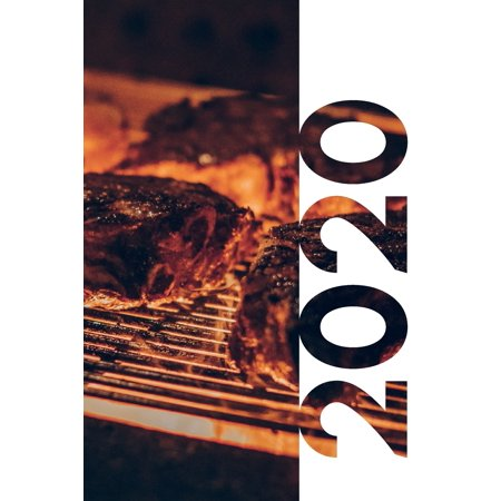 2020: Stocking stuffers for grillers Cool Planner Calendar Organizer Daily Weekly Monthly Student Diary for noting Christmas gifts for bbq enthusiasts (Paperback) ()