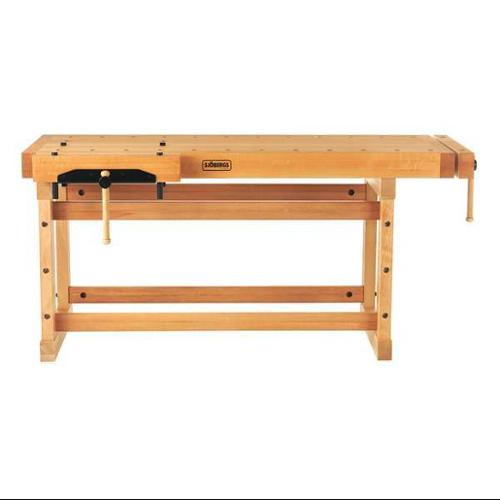 "SJOBERGS SJO-33458K Workbench,Birch,76"" W,29"" D G0698035"