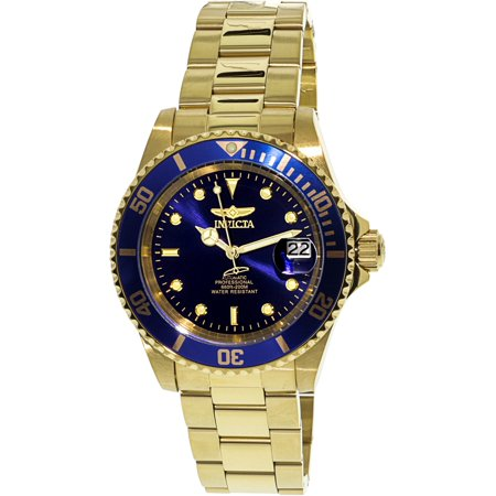 Men's 8930OB Pro Diver Analog Display Japanese Automatic Gold Watch