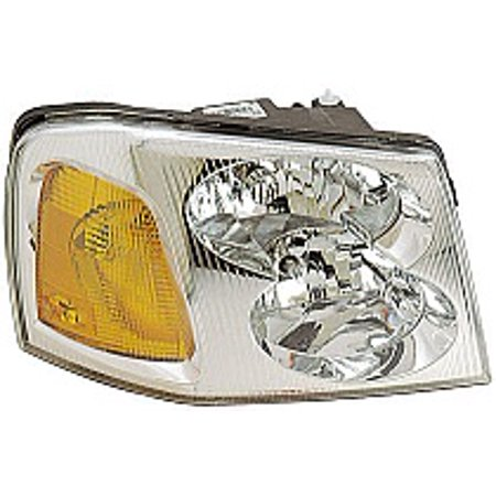 Go-Parts » 2002 - 2009 GMC Envoy Front Headlight Headlamp Assembly Front Housing / Lens / Cover - Right (Passenger) 15866070 GM2503220 Replacement For GMC Envoy