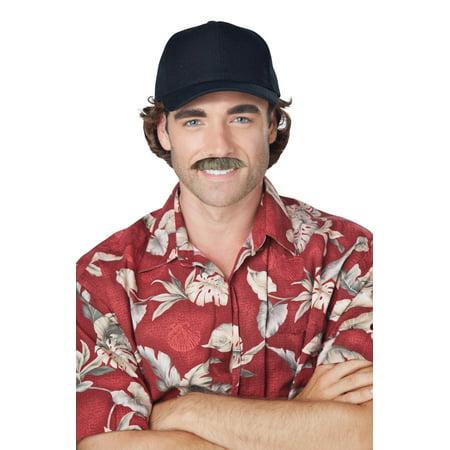 The Magnum Moustache (Brown) (Moustaches For Sale)