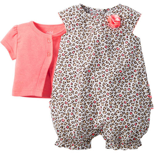 Child of Mine made by Carter s Newborn Baby Girl Romper