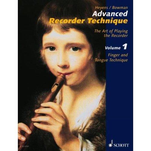 Advanced Recorder Technique: Finger And Tongue Technique