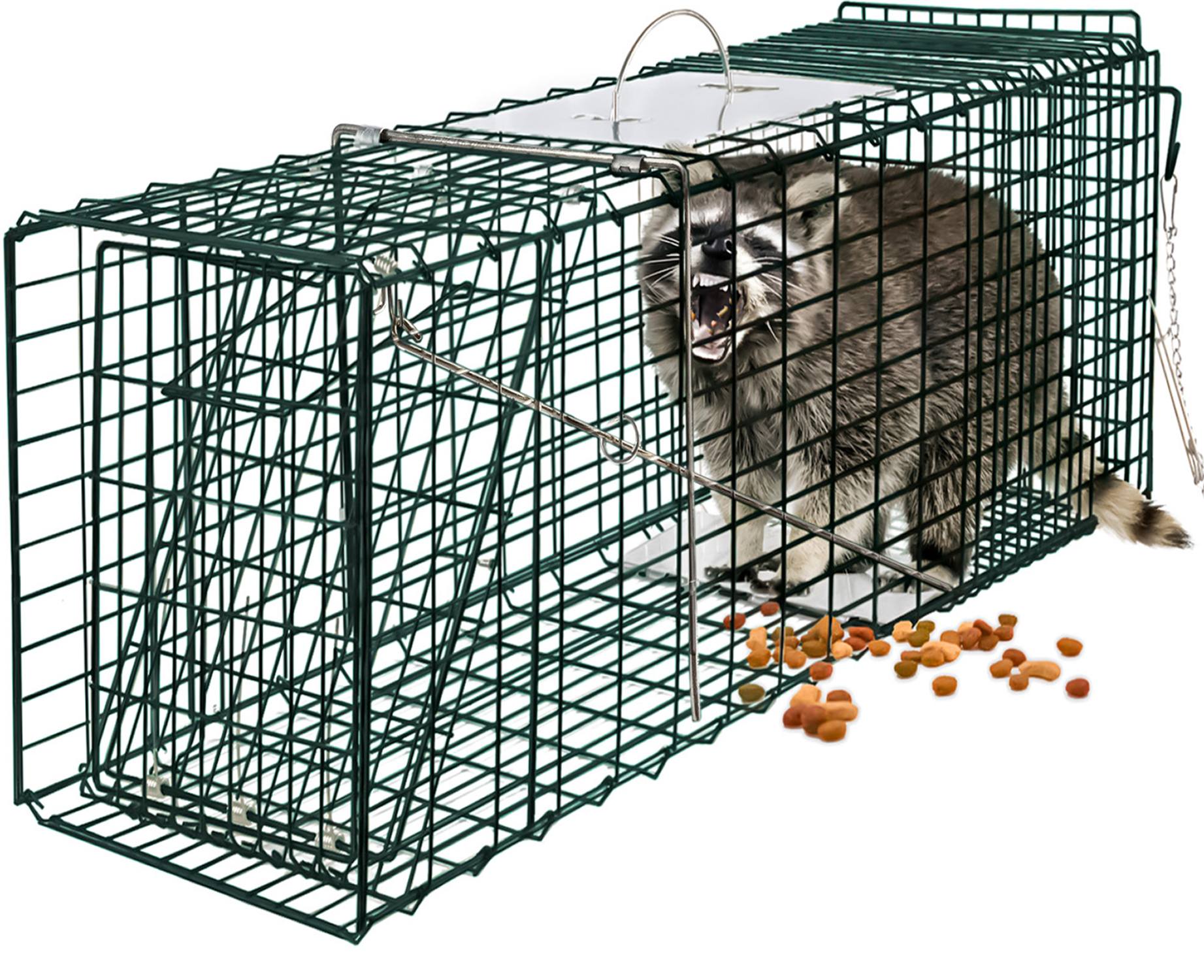 32/'/' Humane Live Animal Trap 1 Door Rodent Cage for Rabbits Cat Raccoon Squirrel