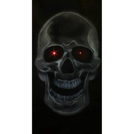 Full Size Door Skull Decoration