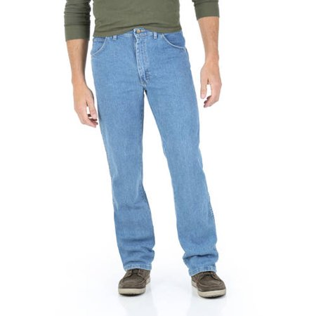 Wrangler Men's Regular Fit Jean with Comfort Flex waistband