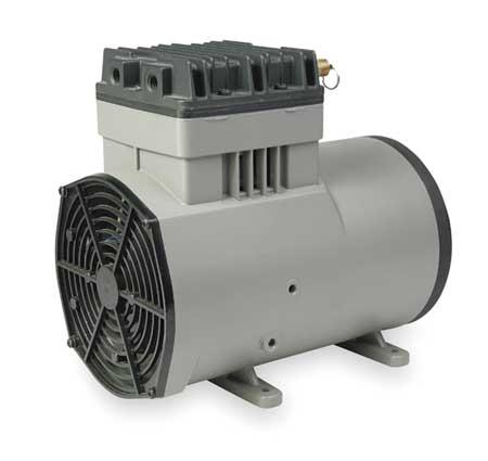 THOMAS 1207PK80 Piston Air Compressor,3/4HP,115V,1Ph