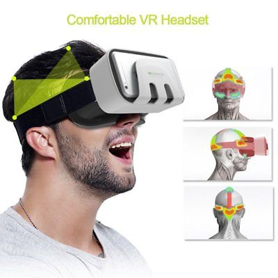 VR Headset Virtual Reality VR BOX Goggles 3D Glasses Google Cardboard Remot