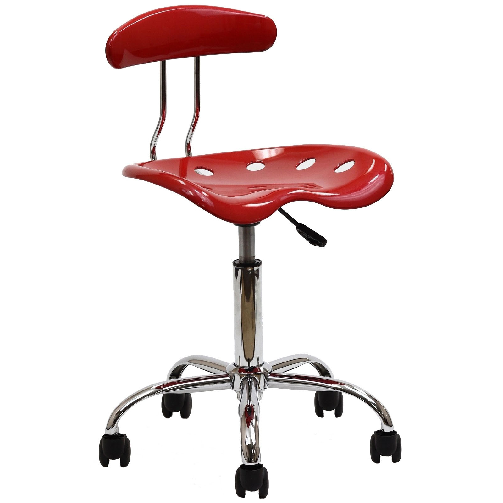 Modway Rush Task Chair in Red