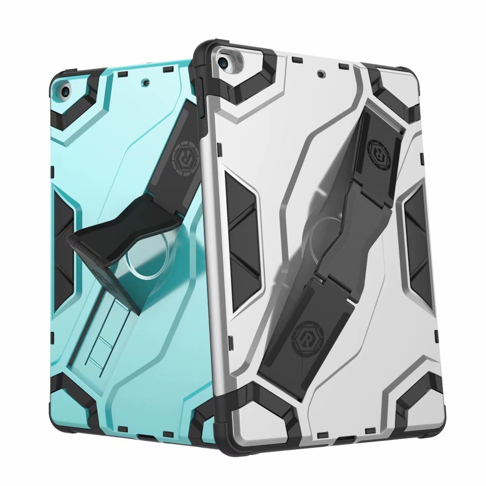 iPad 5th Generation Case,iPad 6th Generation Case,Dteck Hybrid Shockproof Heavy Duty Cover With Kickstand For Apple iPad 5th Gen 2017 Release/6th Gen 2018 Release - Mint
