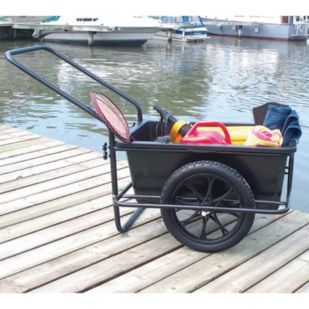 Serenity Dock (Dock Edge Powder Coated Steel Frame iCart Dock Cart with Removable Poly Bucket )