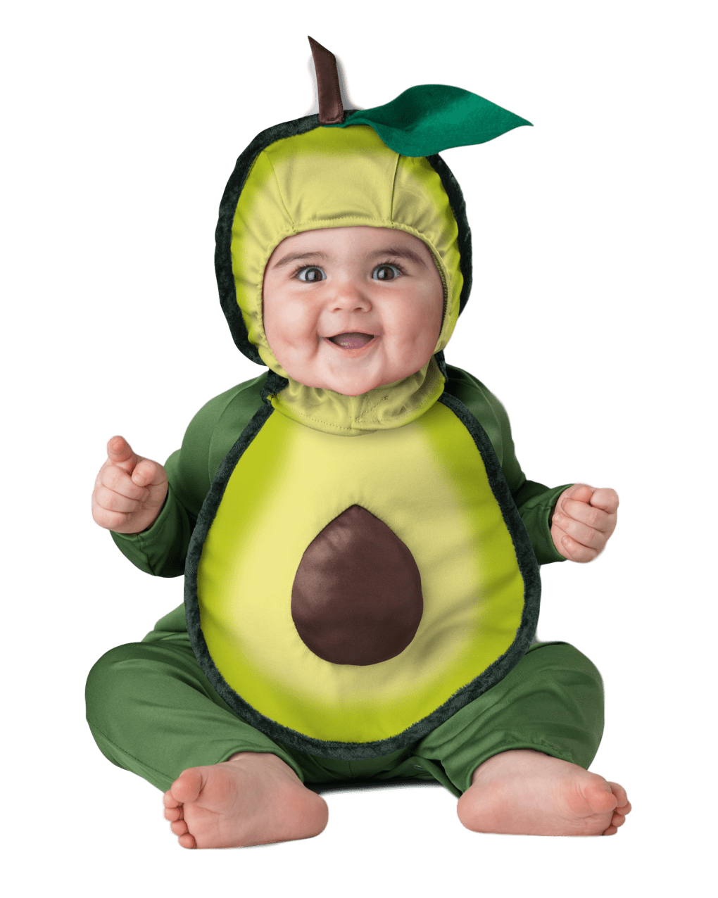 Merqwadd Unisex Toddler Baby Halloween Avocado Costume Cute Velvet Costumes Outfits
