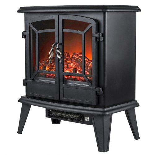 AKDY 400 sq. ft. Vent Free Wood Stove