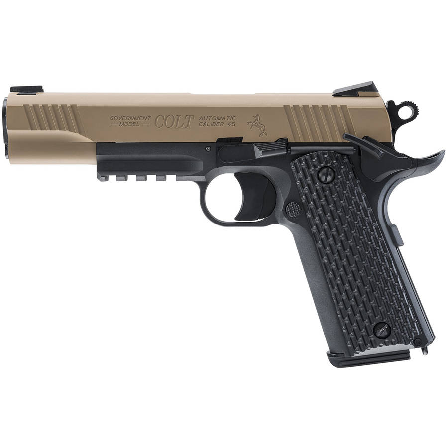 Umarex Colt M45 CQBP-DEB-Metal Slide Air Pistol by Umarex