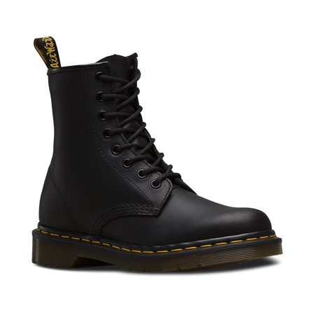 Dr Marten Hiker Boots (Dr. Martens 1460 8 Eye Boot Black Uk 7 )
