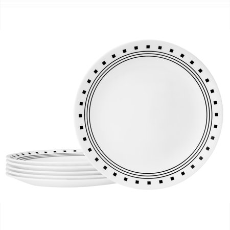 "Corelle Livingware 8.5"" City Block Lunch Plate"