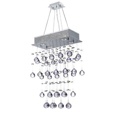 Worldwide Lighting Icicle 7-Light Kitchen Island Pendant