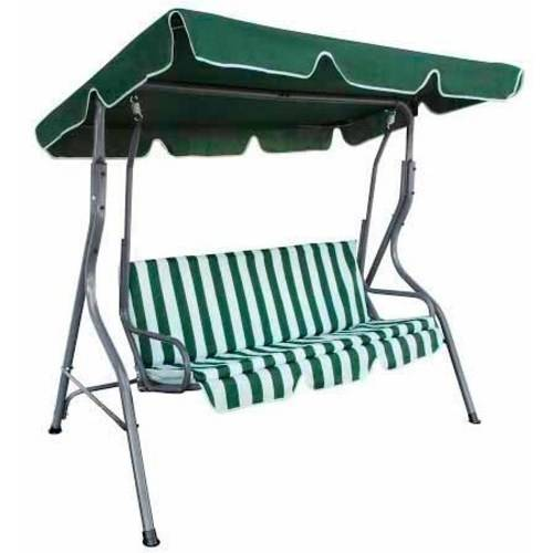 ALEKO SWC02 Outdoor Canopy Porch Swing Patio Bench Garden Swing Chair with Swing Top Cover by ALEKO