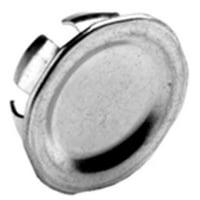 "BRIDGEPORT 1695 1-1/2"" Knockout Plug, Steel - 10 Pack"