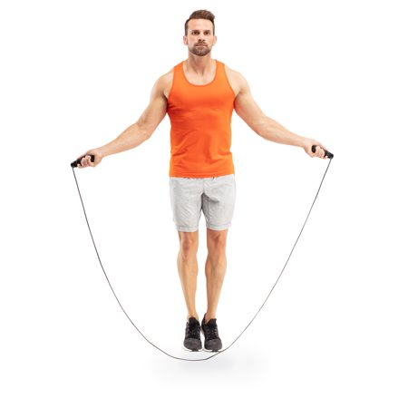 Athletic Works 9â Weighted Jump Rope with Adjustable