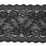 Expo Int'l 10 yards of Lace Trim - IR8099BK by the yard