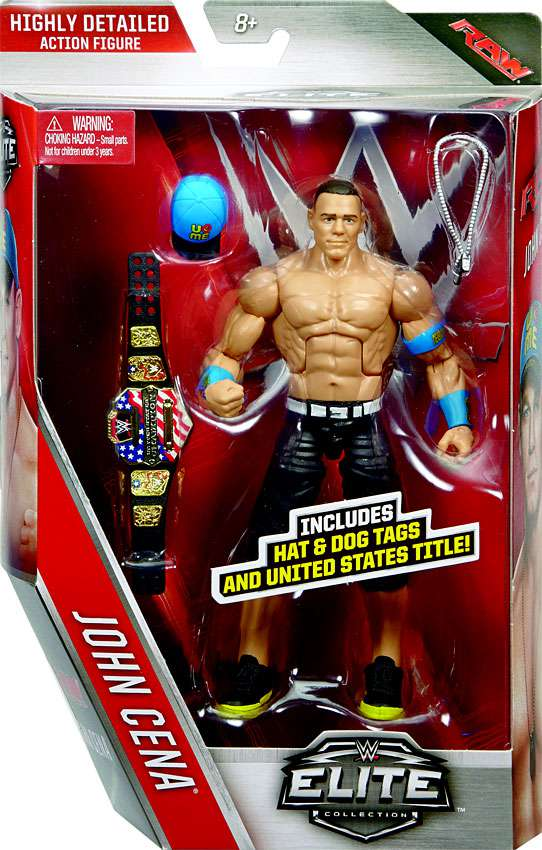WWE Wrestling Elite Series 40 John Cena Action Figure by Mattel