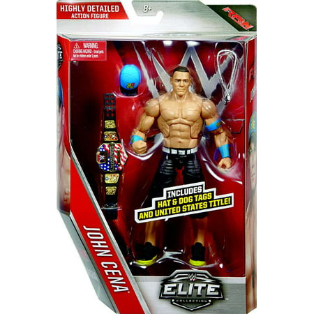 wwe wrestling elite series 40 john cena action