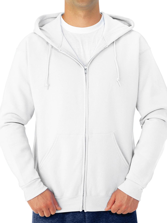 Jerzees Men/'s Fleece Full Zip Hoodie
