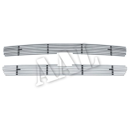 2002 Chevy Suburban - AAL BOLT ON / BOLT OVER BILLET GRILLE / GRILL INSERT For 2000 2001 2002 2003 2004 2005 2006 CHEVY SUBURBAN 2PCS UPPER BOLTON